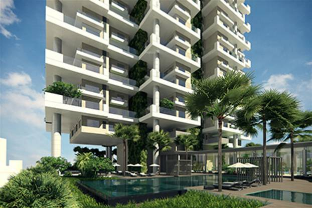 Indiabulls Sky Forest A2 Elevation