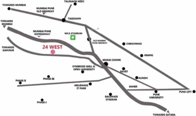 Mantra 24 West Phase 4 Location Plan