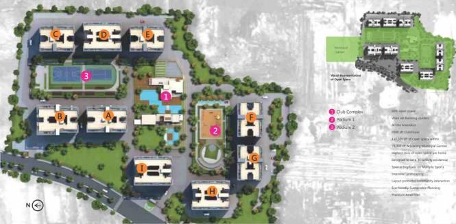 Bhandari 7 Plumeria Drive Phase 1 Layout Plan