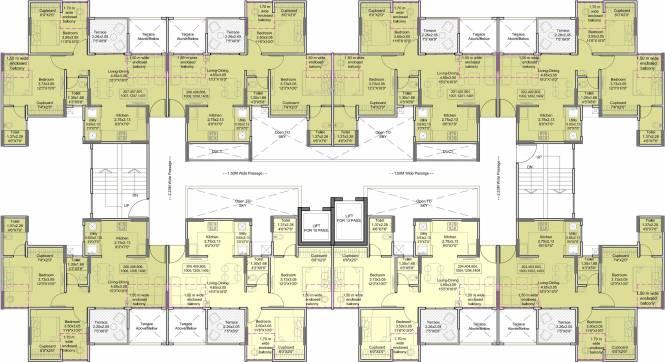 Saheel Itrend Homes Phase I Cluster Plan