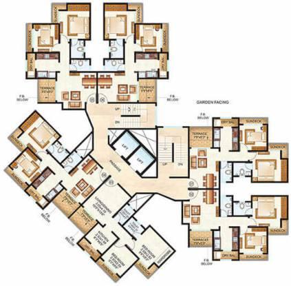 Raunak City Sector IV D10 Cluster Plan