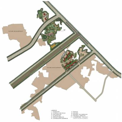 Lodha Upper Thane Treetops A To F C1 C2 Master Plan