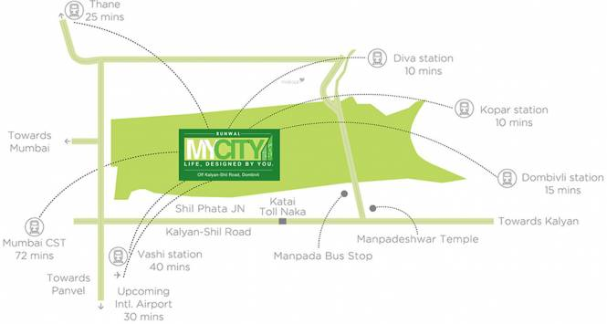 Runwal My City Phase II Cluster 4 Location Plan