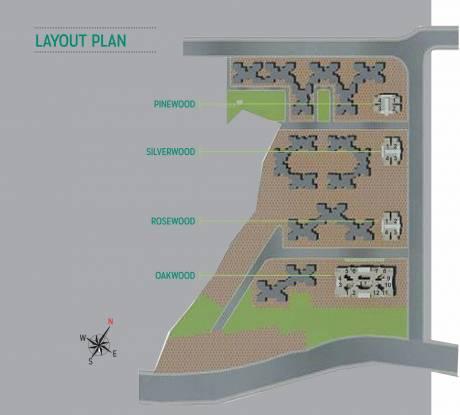 Laxmi The Woods Layout Plan