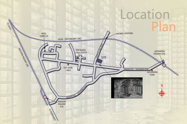 JSB Nakshatra Greens Phase II Location Plan