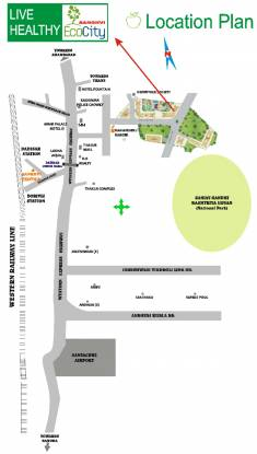 Sanghvi Sanghvi S3 Ecocity Woods Location Plan