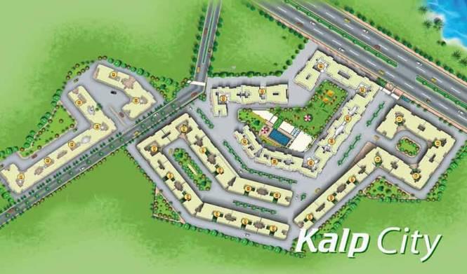 5P Kalp City G1 To G5 Layout Plan