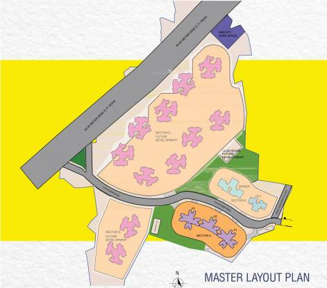 Raunak Raunak Bliss Phase A Master Plan