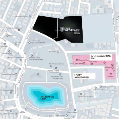Sheetal Westpark Location Plan