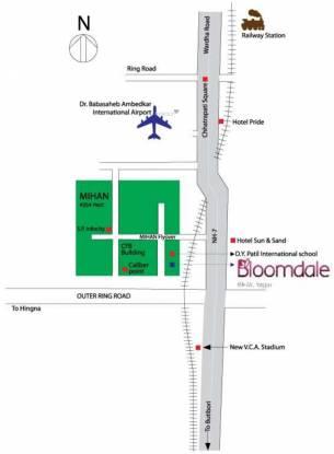 Mahindra Bloomdale Building 08 Location Plan