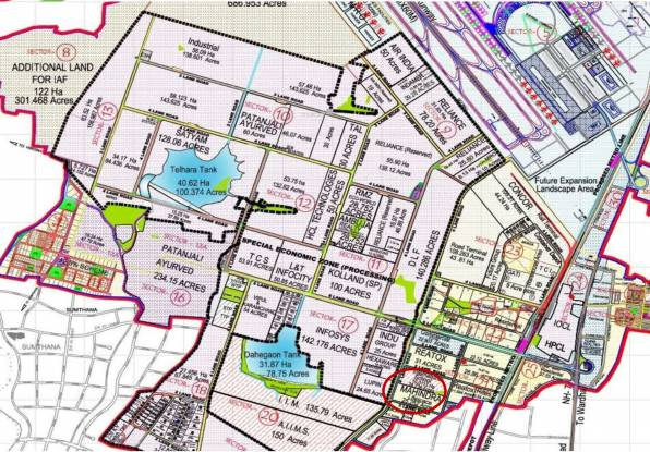 Mahindra Bloomdale Building 08 Master Plan