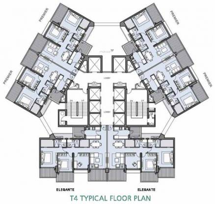 L And T Crescent Bay T4 Cluster Plan