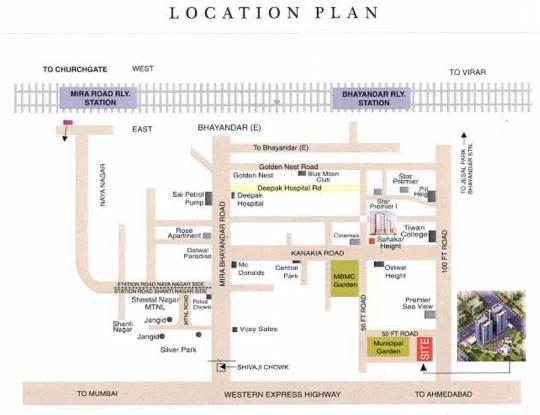 Sahakar Premier Location Plan
