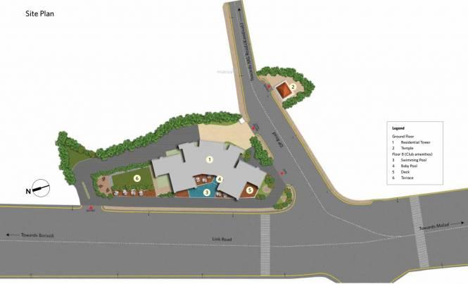 Siddha Seabrook Apartment Site Plan