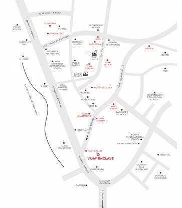 Vijay Enclave Location Plan