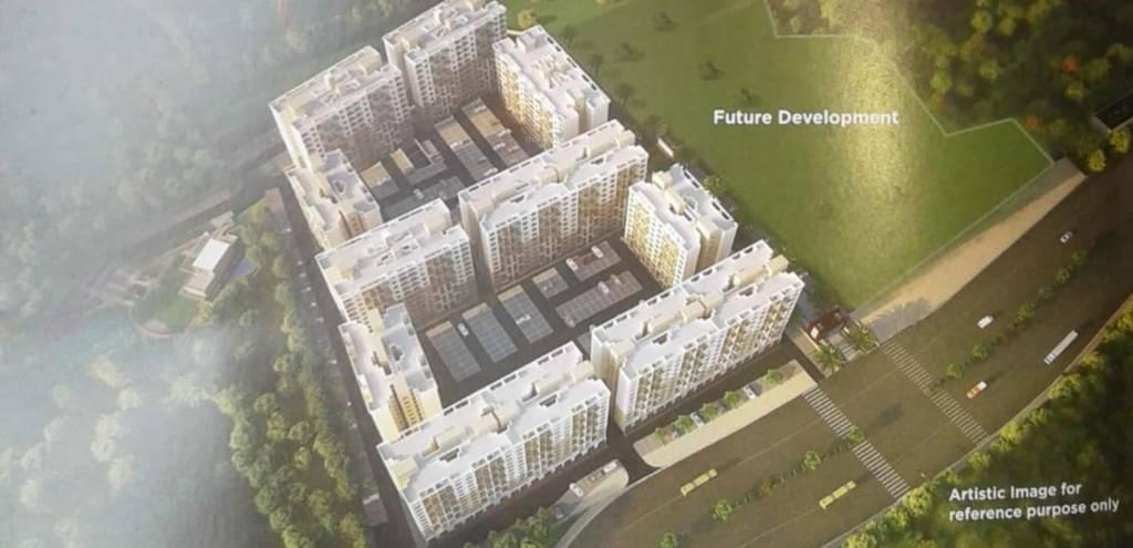 Kohinoor Abhimaan Homes Phase I Elevation