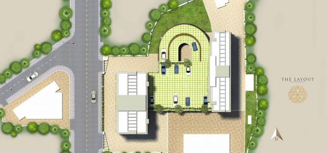 Dhaval Sunrise Orlem 2A Phase 1 Layout Plan
