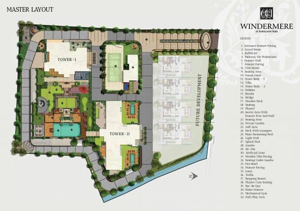 Vascon Windermere Phase 1 Master Plan