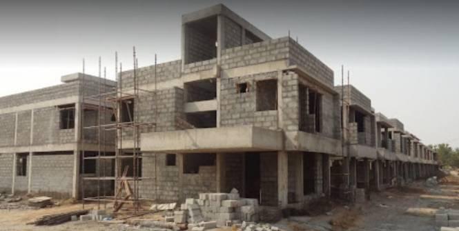 humming-gardensvillas Construction Status July-19