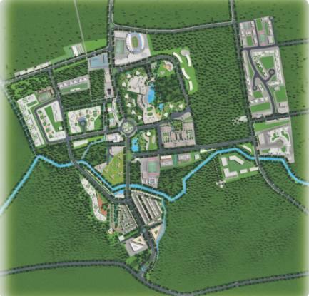 Kolte Patil Life Republic R4 Site Plan