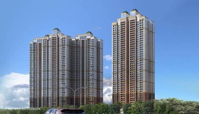 Paradise Sai World City Panvel Elevation