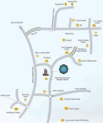 Gopal Krishna Krishna Square Location Plan
