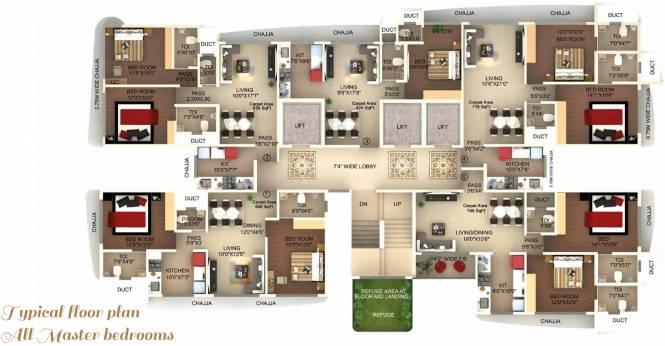 Laxmi Callista Cluster Plan