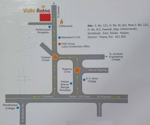 Lotus Vidhi Ratna Location Plan