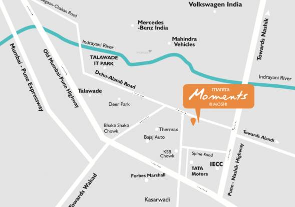 Mantra Moments Phase 5 Location Plan