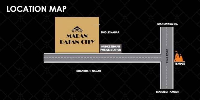 madan-ratan-city Location Plan