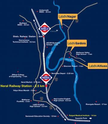 Labdhi Gardens Phase 1 Location Plan
