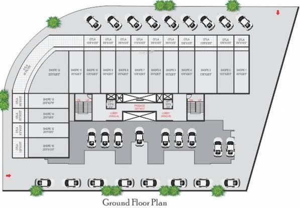 Bathija Tulsa Namdev Residency Apartment Cluster Plan