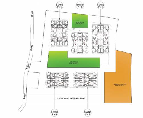Supertech Defence Colony Pune Phase 1 Site Plan