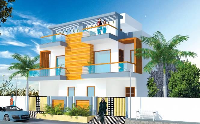 Siddhartham Mansion Elevation