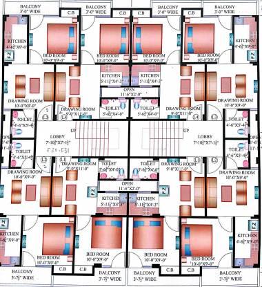 Vaishno Homes Cluster Plan