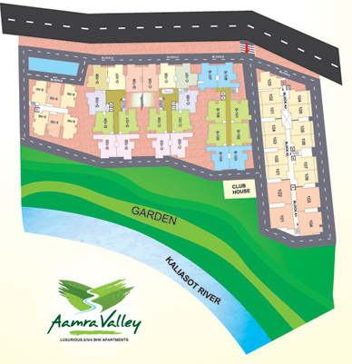 Ujjawala Aamra Valley Phase 2 Layout Plan