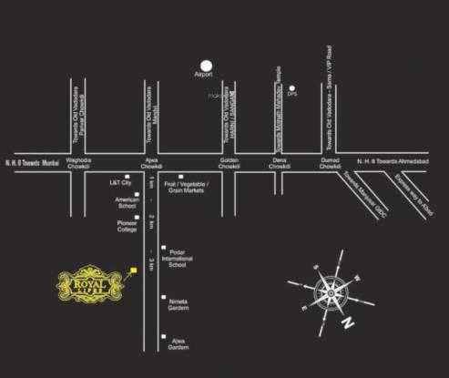 Makhija Royal Lifes Location Plan