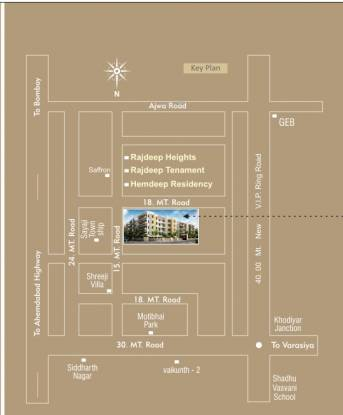 Krishna Rudraksh Rivera Location Plan