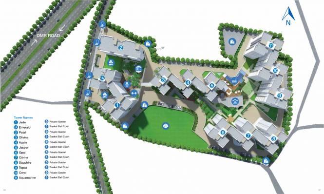 Godrej Azure Phase 3 Master Plan