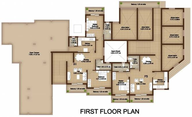 Megha Mother Agnes Field View Cluster Plan