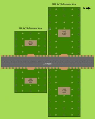 Pragati Green Valley C Sector Layout Plan