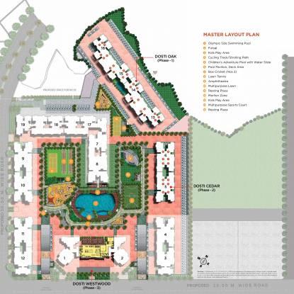 Dosti West County Phase 2 Dosti Cedar Master Plan