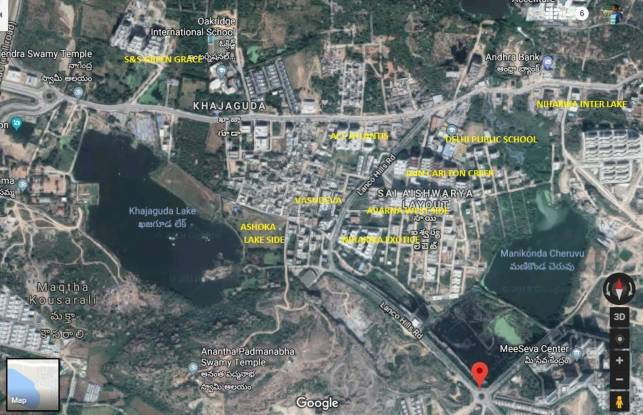 Ashoka Lake Side Location Plan