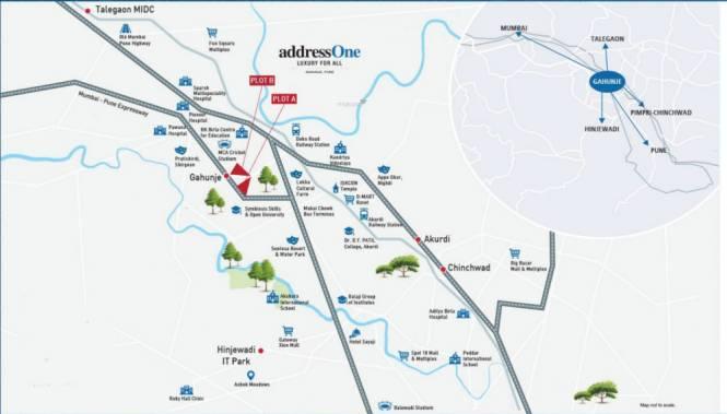 Peninsula Address One Phase 2 Location Plan
