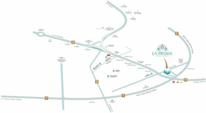 United La Prisma Location Plan