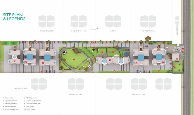 United La Prisma Site Plan