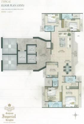 Satyam Imperial Heights Cluster Plan
