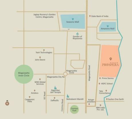 Kumar Prospera A1 And A2 Location Plan