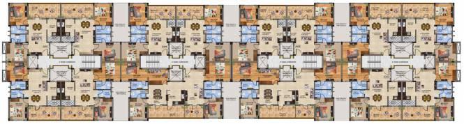 Bharathi Brikhouse Cluster Plan