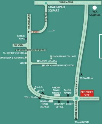 Vishal Kanchanganga Location Plan
